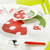 Set de Table Champignon X6