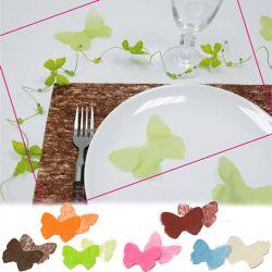 Confettis papillons intissé x 36