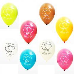 """Ballon """" vive les mariés """" X8"""