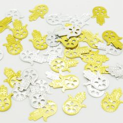 Confettis de table Main de FATMA