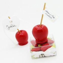 Dragées Pomme d'amour Marque place