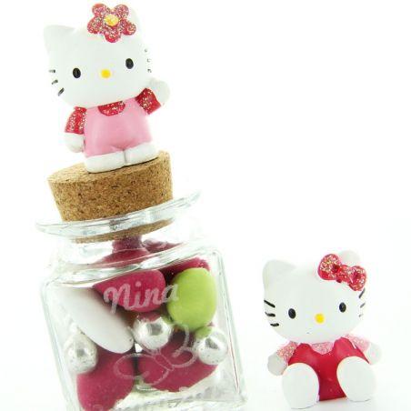 Sujet dragées bapteme Hello Kitty X2 - Sanrio©
