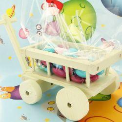 Bonbonnière dragées Chariot d'enfant