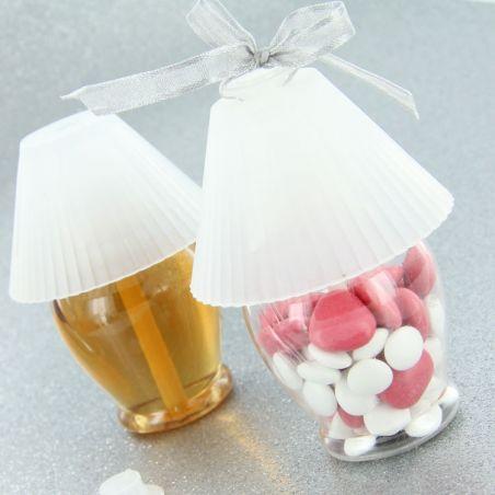 Mini lampe chevet dragées / diffuseur parfum