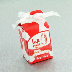 Boîte dragée carton Lait X10