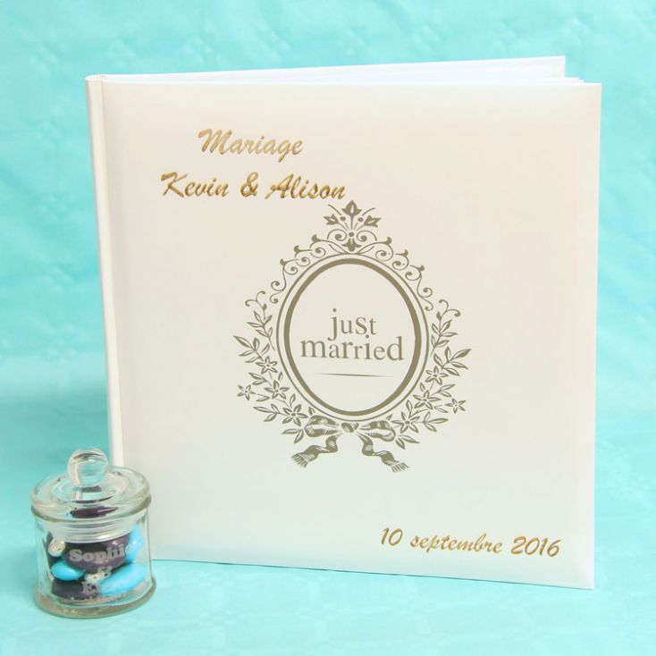 Livre D Or Mariage Personnalise Just Married