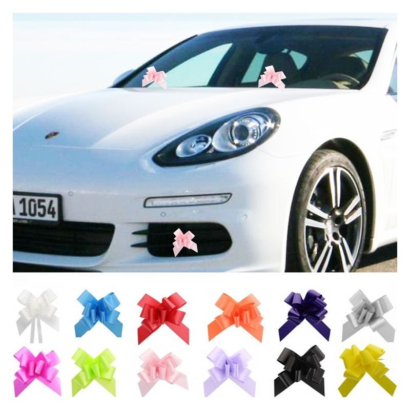 Mini nœud décoration voiture (lot de 20)