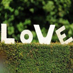 """Déco salle et extérieur """"LOVE"""""""