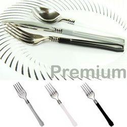 Fourchette jetable Premium Lot de 20