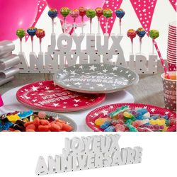 Candy Bar - Joyeux Anniversaire