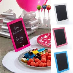 Mini ardoise Marque table / Marque place