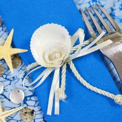 Une d coration de table parfaite pour votre communion - Rond de serviette fait soi meme ...