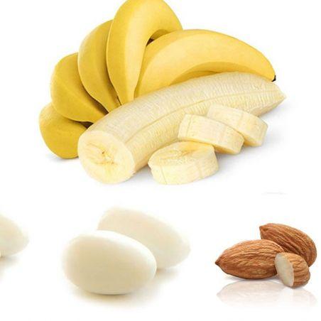 Dragées coeur d'amande Banane - Dragées originales 1kg