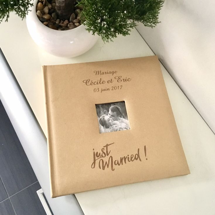 Livre D Or Album Photo Personnalise Kraft