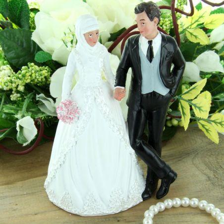 Figurine gateau mariage Musulman