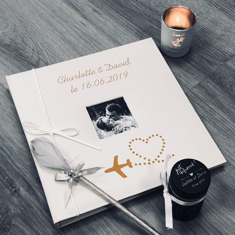 Livre d'or personnalisé thème voyage / Album photo