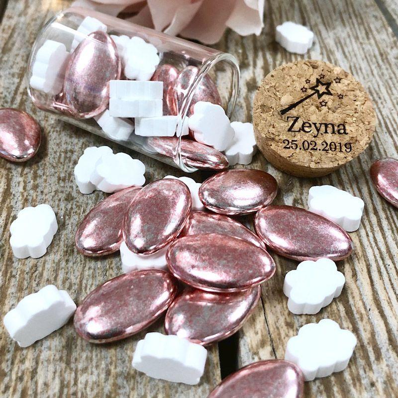Dragées luxe Rose Silver
