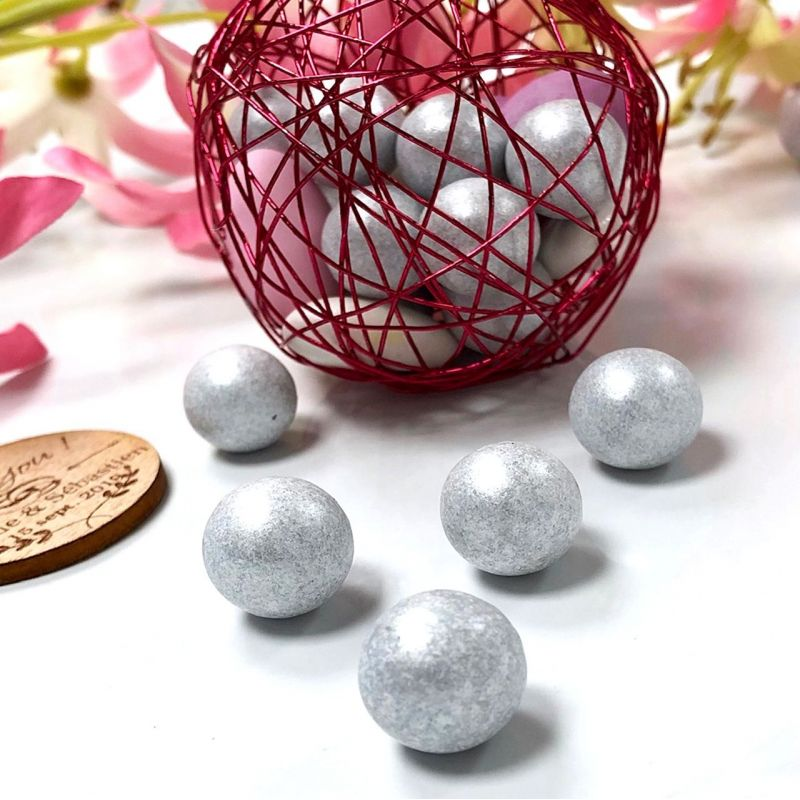 Bonbon Balls argentée (1200 pcs)