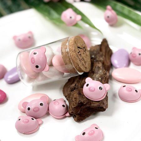 36 Cochons en bois à coller